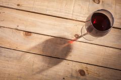 Wine and shadow Stock Images