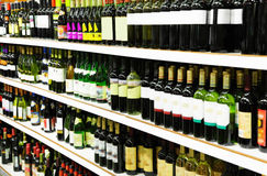 Wine shop Stock Photo