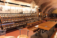 Wine shop in Barolo Royalty Free Stock Image