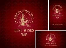 Wine shop Royalty Free Stock Photos