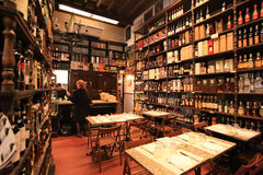 Wine shop in Rome Royalty Free Stock Photography