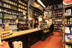 Wine shop in Rome Royalty Free Stock Images