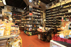 Wine shop in Rome Royalty Free Stock Photos