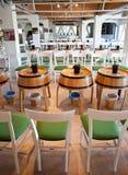 Wine shop in Santornini Stock Images