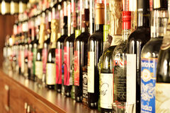 Wine shop Royalty Free Stock Images