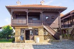 Wine shop in Sozopol, Bulgaria Royalty Free Stock Photo