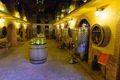 Wine shop in Tbilisi, Georgia Stock Photo