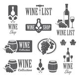 Wine signs Royalty Free Stock Photo