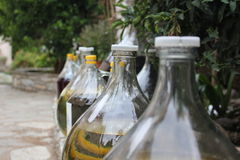 Wine. A small home-made wine distillery Stock Images