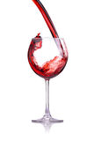 Wine splash Royalty Free Stock Photography