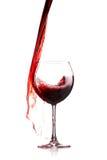 Wine splash Royalty Free Stock Photo