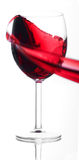 Wine splash Royalty Free Stock Images
