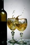 Wine splash Royalty Free Stock Photography
