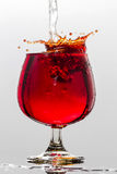 Wine splash Royalty Free Stock Photo