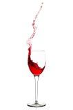 Wine splash Royalty Free Stock Image