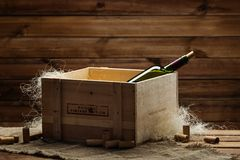 Wine still life Royalty Free Stock Photography