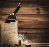 Wine still life Royalty Free Stock Image
