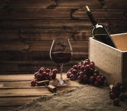 Wine still life Stock Image