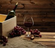 Wine still life Royalty Free Stock Images