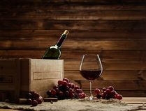 Wine still life Stock Images