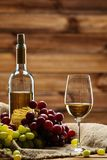 Wine still life Stock Photos