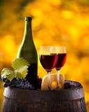 Wine still-life Royalty Free Stock Image