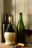 Wine Still Life With Window Light royalty free stock image