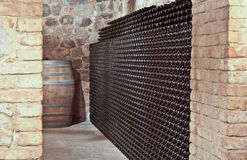 Wine storage Stock Photos