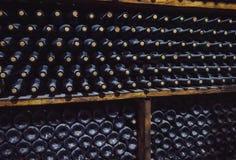Wine Storage in the Cellar .  America : Stock Image