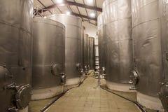 Wine Storage facility Stock Image