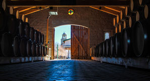 Wine Storage Stock Photos