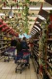 Wine store Royalty Free Stock Photos