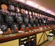 Wine store in El Tarter. Canillo. Principality of Andorra Royalty Free Stock Photo