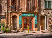 Wine store in Provence, France Stock Image
