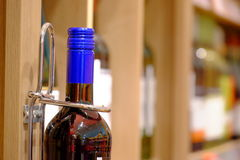 Wine store Royalty Free Stock Images