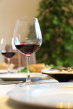 Wine on table Royalty Free Stock Photography
