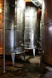 Wine Tanks Royalty Free Stock Photography