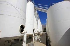 Wine tanks, Cafayate, Argentina royalty free stock photo