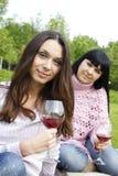 wine target1866_0_ córki matka wine Fotografia Royalty Free