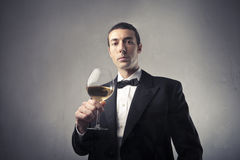 Wine taster Royalty Free Stock Photos