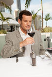 Wine tasting Stock Photos
