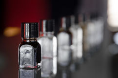Wine tasting aroma. Bottle without number of a wine tasting aroma essence kit for professional sommeliers Stock Photos