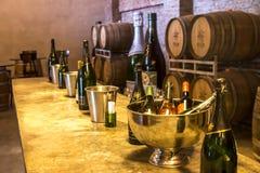 Wine Tasting Facility Royalty Free Stock Photos