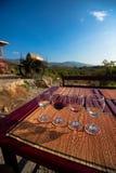 Wine tasting glasses Royalty Free Stock Images
