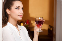 Wine tasting. Royalty Free Stock Photo