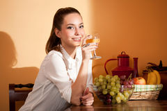 Wine tasting. Stock Images