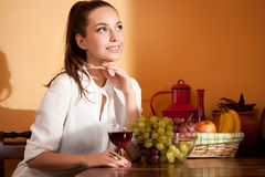 Wine tasting. Royalty Free Stock Images