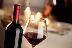 Wine tasting at restaurant Royalty Free Stock Photo