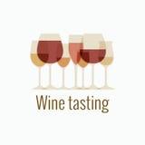 Wine tasting Stock Images