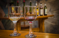 Wine testing Stock Images